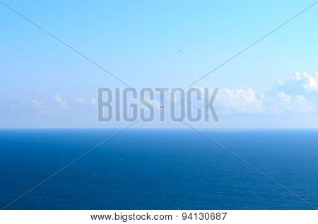 The Sea, The Sky And Seagulls