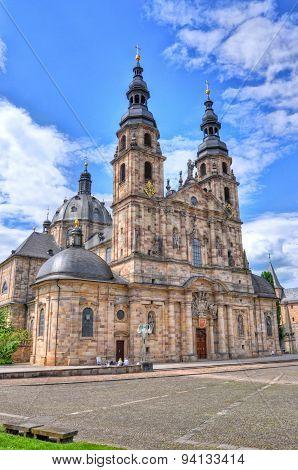 FULDA, GERMANY - MAI 27: Fuldaer Dom (cathedral) on Mai 27, in Fulda, Germany