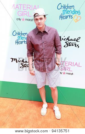 LOS ANGELES - JUN 14:  Jesse McCartney at the Children Mending Heart's 7th Annual Empathy Rocks Fundraiser at the Private Location on June 14, 2015 in Malibu, CA