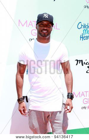 LOS ANGELES - JUN 14:  Ricky Whittle at the Children Mending Heart's 7th Annual Empathy Rocks Fundraiser at the Private Location on June 14, 2015 in Malibu, CA