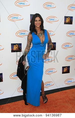 LOS ANGELES - JUN 6:  Elena DeSantis at the Lupus LA Orange Ball  at the Fox Studios on June 6, 2015 in Century City, CA