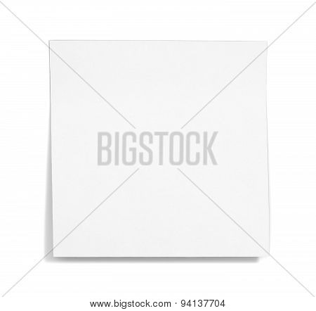 White Sticky Note