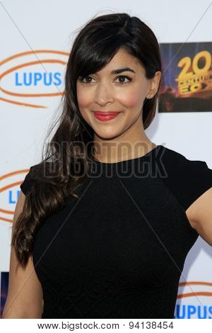 LOS ANGELES - JUN 6:  Hannah Simone at the Lupus LA Orange Ball  at the Fox Studios on June 6, 2015 in Century City, CA
