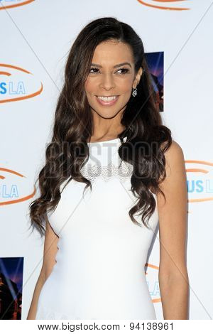 LOS ANGELES - JUN 6:  Terri Seymour at the Lupus LA Orange Ball  at the Fox Studios on June 6, 2015 in Century City, CA