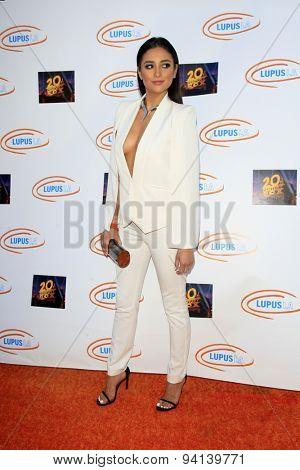 LOS ANGELES - JUN 6:  Shay Mitchell at the Lupus LA Orange Ball  at the Fox Studios on June 6, 2015 in Century City, CA