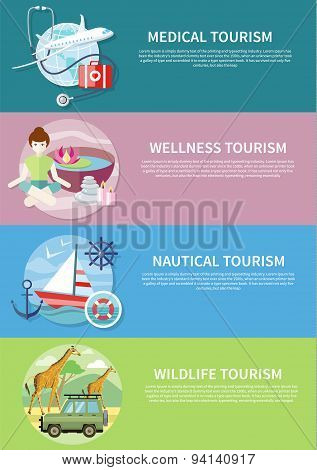 Wildlife, Wellness, Medical and Nautical Tourism