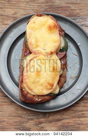 Grilled sandwich.