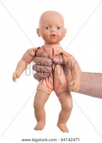 Adult With Baby Toy (no Trademark)