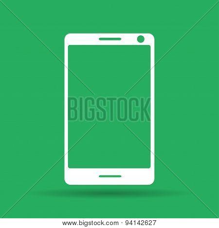 Smartphone Icon, Vector Illustration