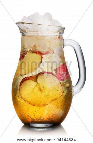 Apple Spritzer (apfelschorle) Pitcher