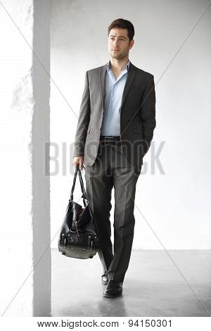 Handsome office worker