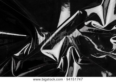 black leather background