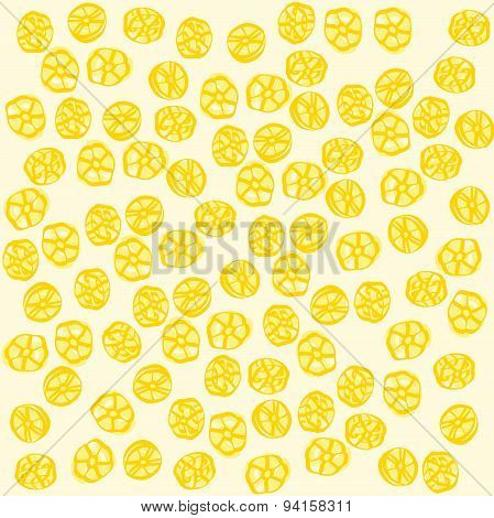 Ruote .  Italian pasta Seamless pattern Vector