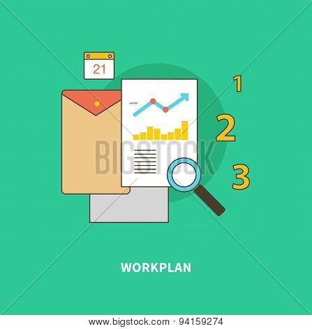 Stage Business Process is Formation of Workplan