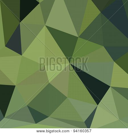 Background Polygonal Green Design Style