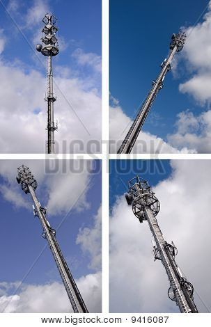 Modern Hi-tech Microware Radio Tower Mast