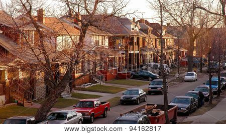 Detroit Urban Neighborhood