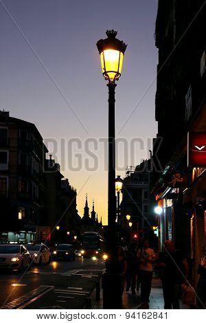 Evening Madrid