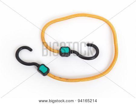 Black Hook With Elastic Rope