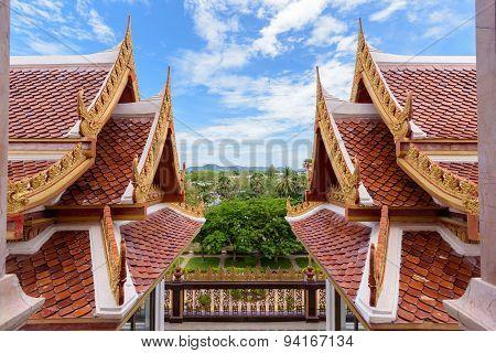 Thai Style Roof