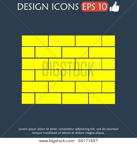 Brick Vector Icon