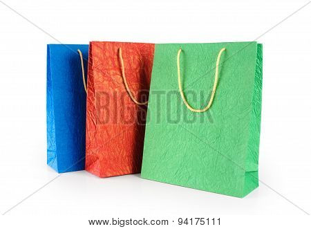 Paper Gift Bags. Color.
