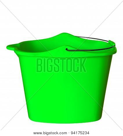 Plastic Bucket - Green