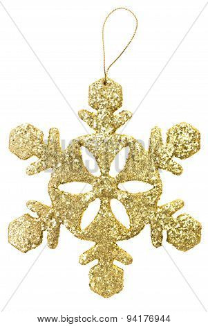 Christmas Toy Snowflake