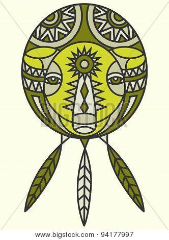 Tribal Bear Design