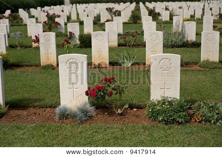 Commonwealth Soldiers Memorial Cemetery Souda Crete