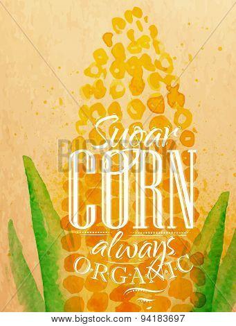 Poster corn