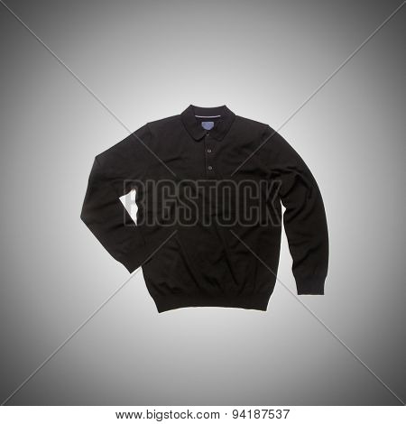 Male sweater against the gradient