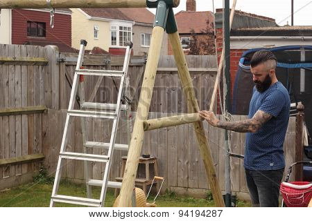 Building a childrens swing