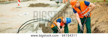 Placing The Electrical Cables