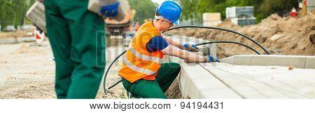 Workers Heavy Job