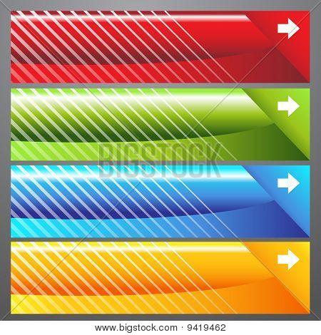 Slash Web Banners
