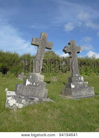 Church Graveyard Of St Enodoc Church