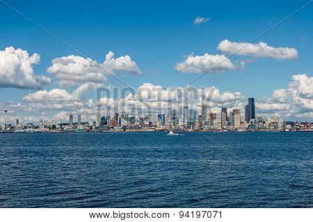 Sunny Seattle Skyline 8