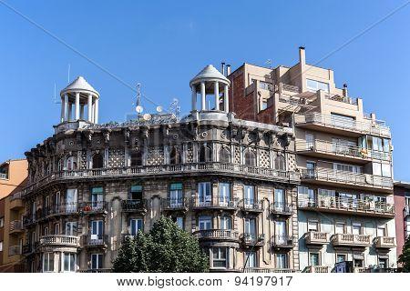 Old Building In Girona, Spain