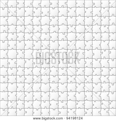 Vector Paper Puzzle. Illustration Background for Design.