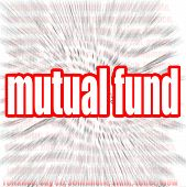 stock photo of prospectus  - Mutual fund word cloud image with hi - JPG