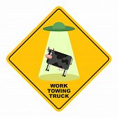 picture of towing  - Road sign - JPG