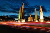 image of democracy  - Democracy Monument give more meaning to the Thai people - JPG