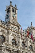 picture of city hall  - Detail of Valladolid city hall - JPG