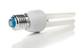 pic of light fixture  - a lightbulb lamp isolated on white background - JPG