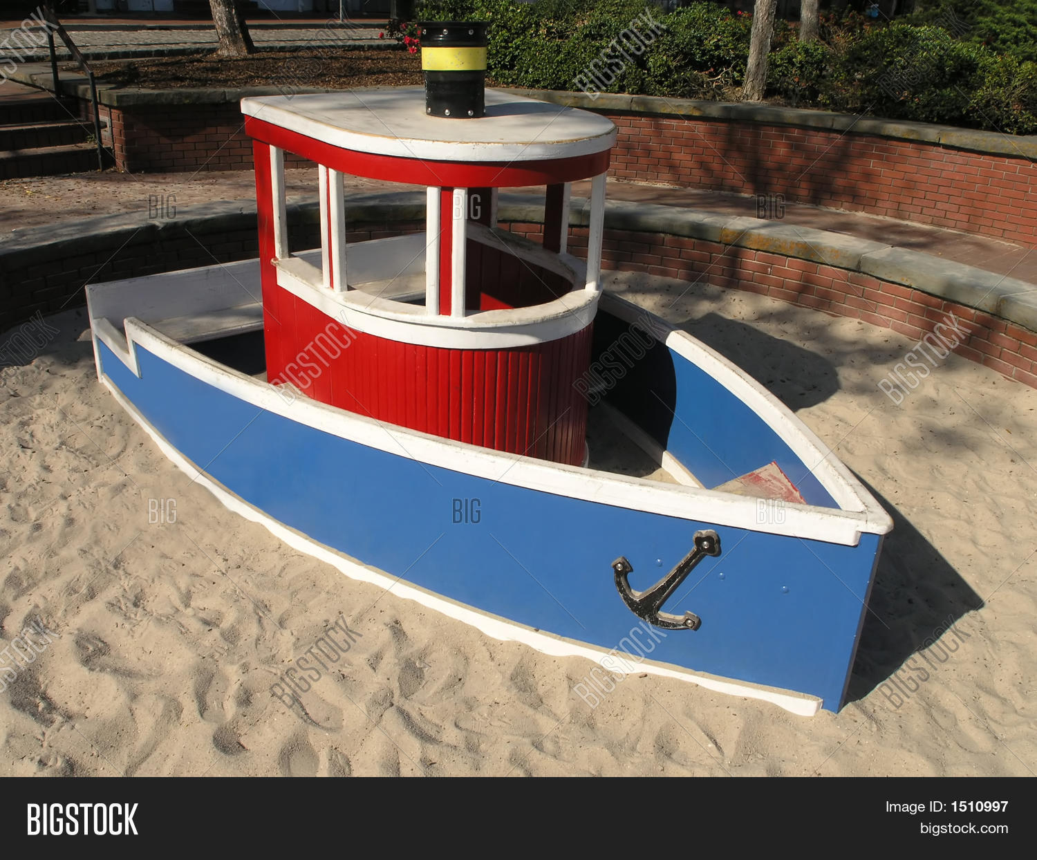 Tugboat Sandbox Image & Photo | Bigstock
