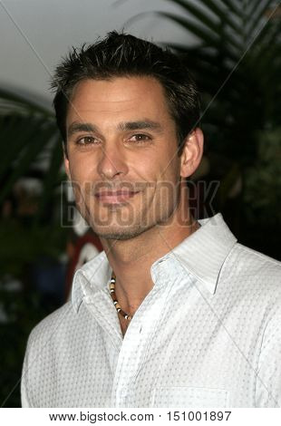 Brady Finta at the finale for 'Survivor Vanuatu Islands of Fire' held at the CBS Television City in Hollywood, USA on December 12, 2004.