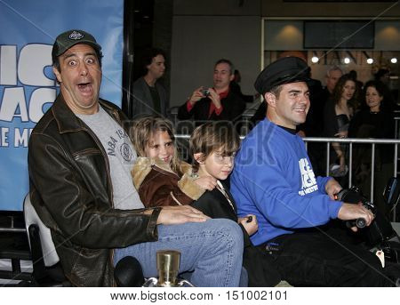 Brad Garrett at the World premiere of 'Ice Age 2: The Meltdown' held at the Grauman's Chinese Theater in Hollywood, USA on March 19, 2006.