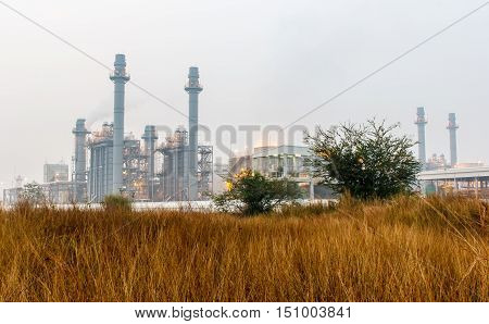Oil refinery power station at in Thailand