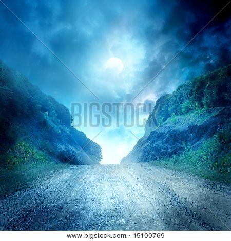 Mond-Straße